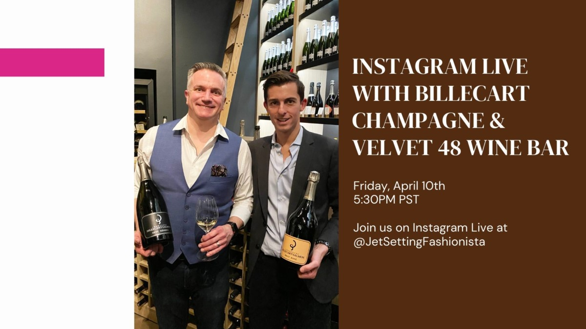 Billecart Champagne Virtual Tasting