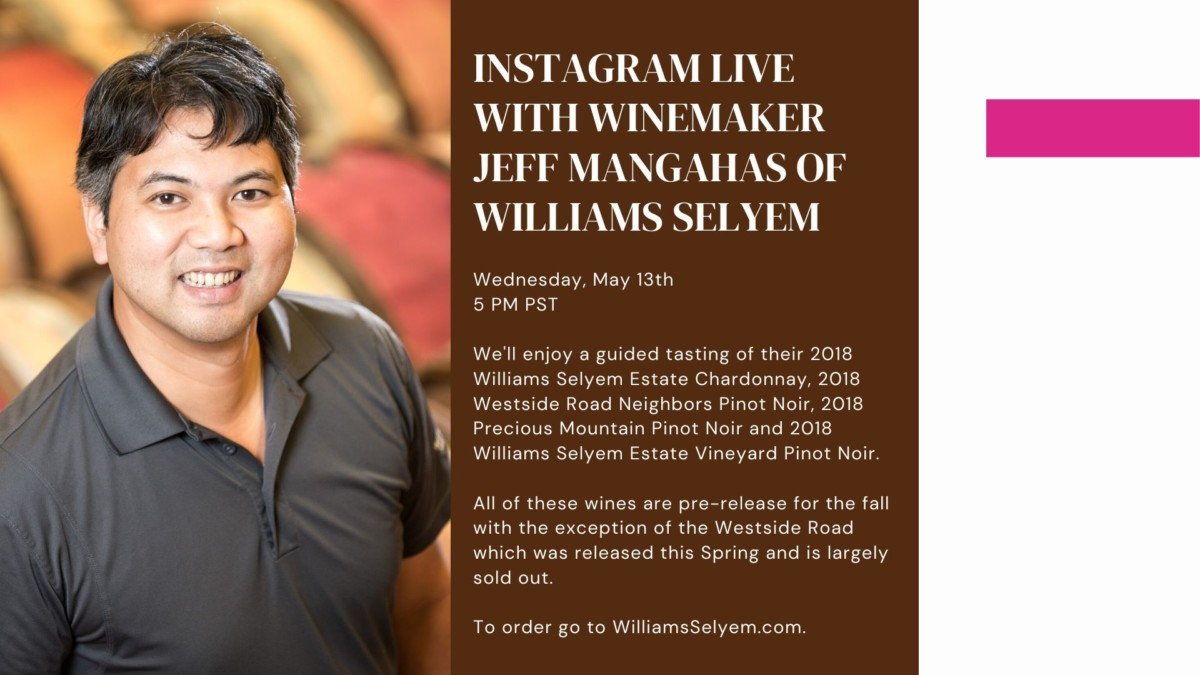 Jeff Mangahas Williams Selyem Winery