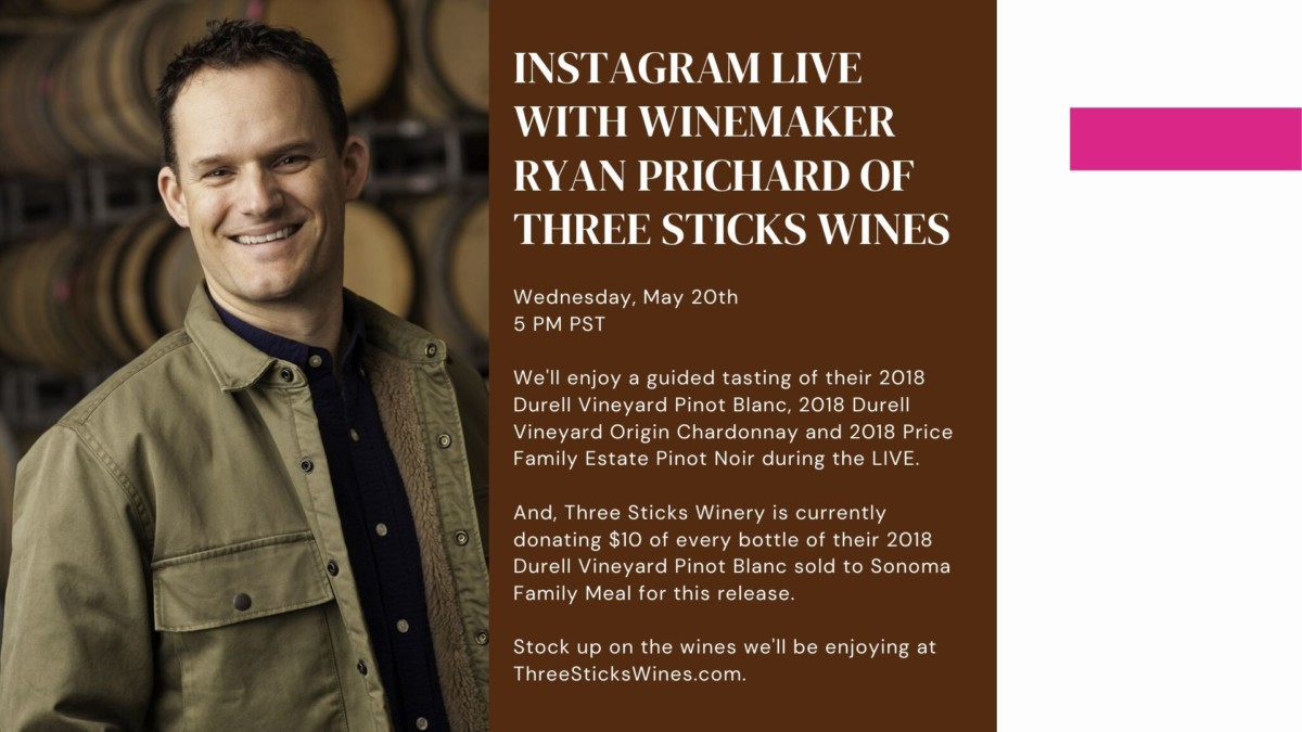 Ryan Prichard Three Sticks Wines