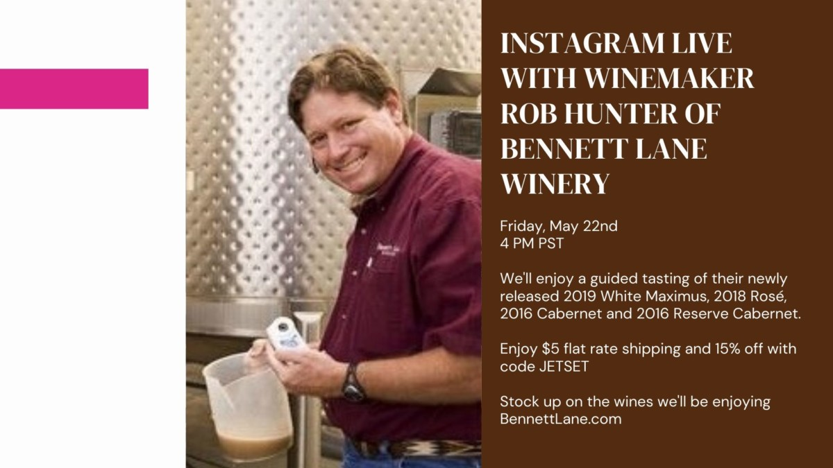Rob Hunter Bennett Lane Winery
