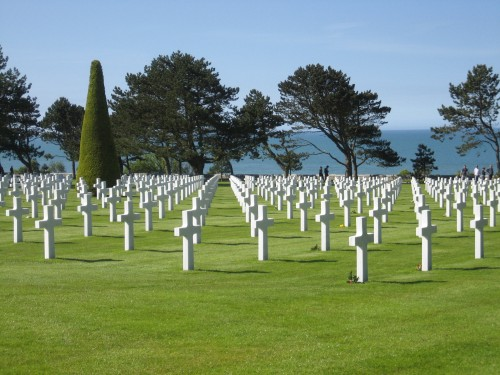 Normandy Beach & Cemetery, Normandy France