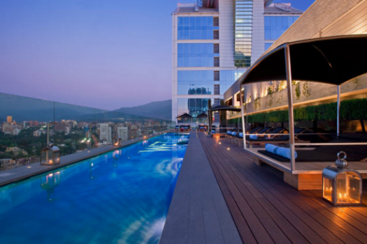 """The W Hotel Santiago Chile Beyond Sexy In """"Sanhatten"""" Chile"""