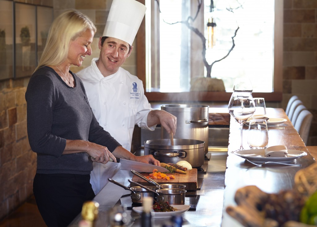 Chef cooking class