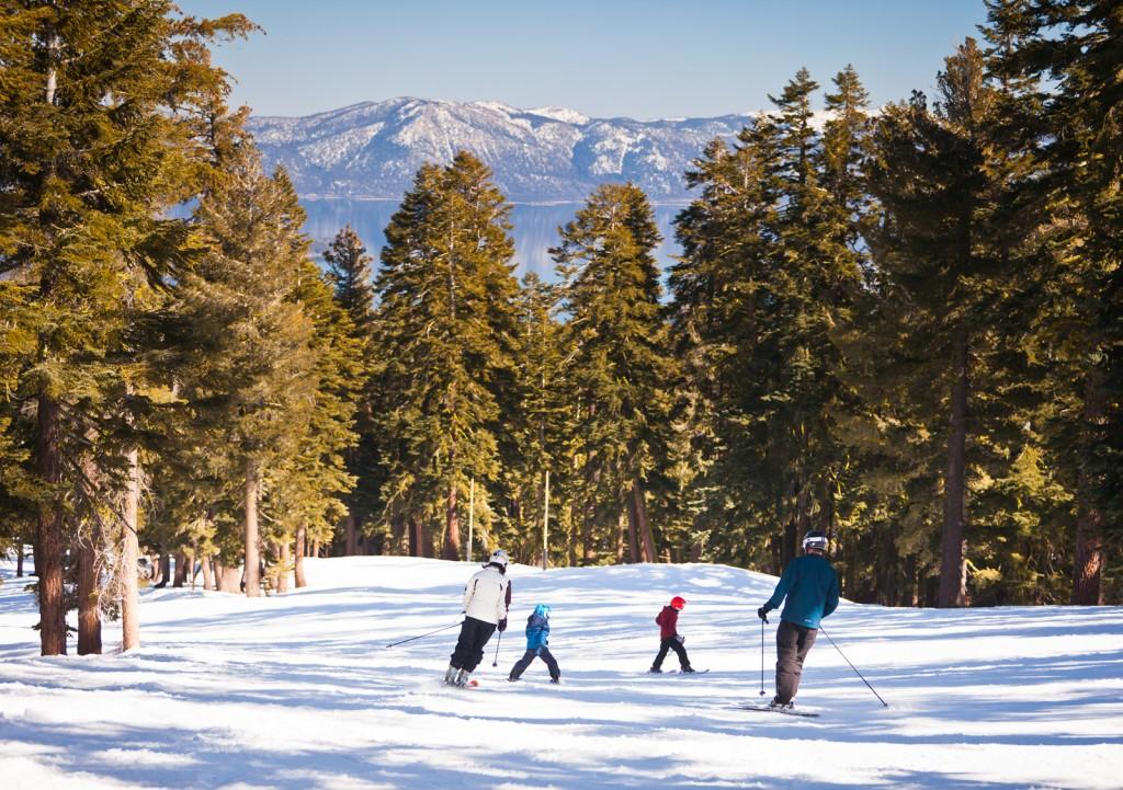 Skiing at Northstar California (5)