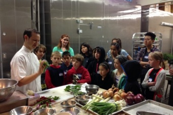 Cooking with The Slanted Door Chef & Sprouts Cooking Club