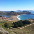 Hiking Marin At Rodeo Beach