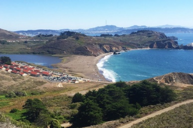 Hiking Marin At Rodeo Beach In The Marin Headlands