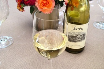 Jordan Winery's Fall Harvest Lunch in Healdsburg California