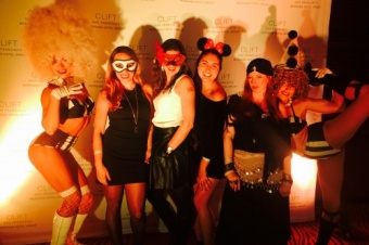 California: San Francisco Clift Hotel Halloween Party 2014 CarnEVIL
