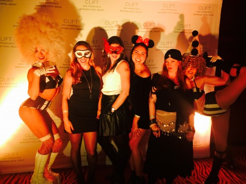 Clift Hotel Halloween