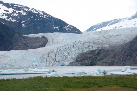 One Of The Most Spectacular Glaciers in Alaska… Mendenhall Glacier