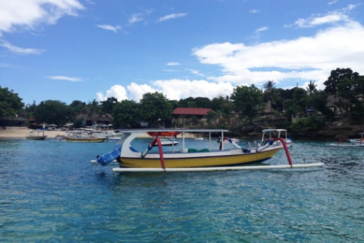 Getting from Bali Mainland to Nusa Lembongan Island by boat
