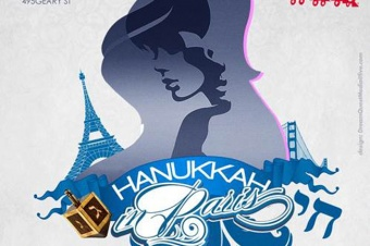 San Francisco's Clift Hotel The Hannukah In Paris Charity Event