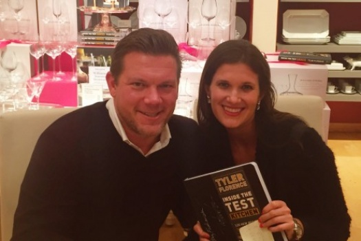Interview With Legendary Chef Tyler Florence For Inside The Test Kitchen Book Signing