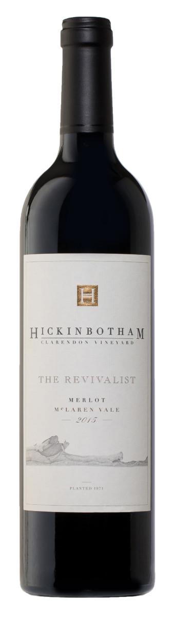 2015 Hickinbotham The Revivalist Merlot Bottle Shot