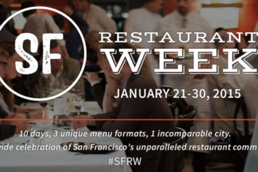 Kick Off Party For SF Restaurant Week January 21st-30th, 2015