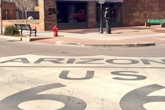 Route 66 Road Trip Winslow Arizona Stop