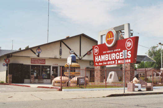 Route 66 Road Trip Original McDonald's Location In San Bernadino California