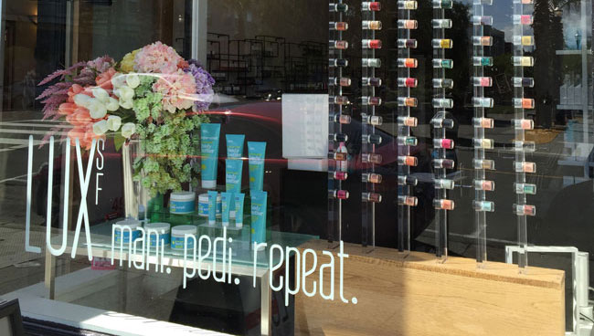 LUX SF The Most Charming Nail Salon In Hayes Valley San