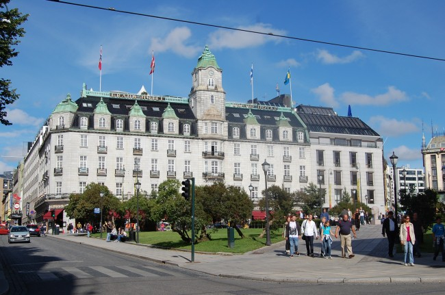 Grand Hotel Oslo Norway