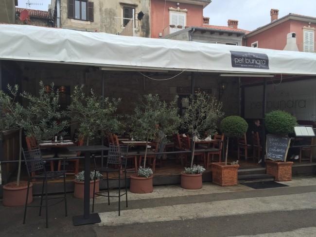 Pet Penara Restaurant Zadar Croatia
