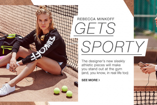 Shop Rebecca Minkoff's NEW Sporty Activewear Line