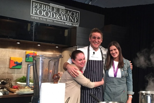 Chef Curtis Stone Bloody Mary Shake Off At Pebble Beach Food & Wine