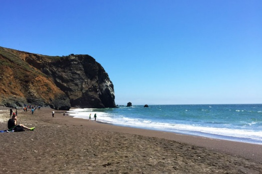 Tennessee Valley Hikes & The Tennessee Valley Beach Cove In The Marin Headlands