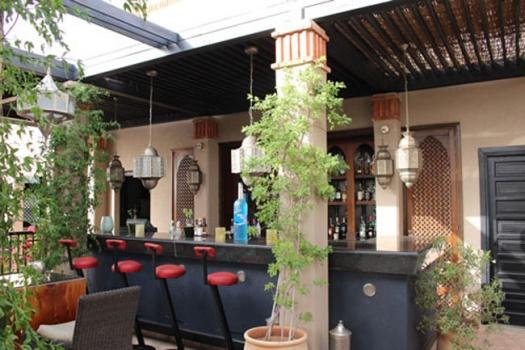 Four Seasons Resort Marrakech Zest At Bleu D'Orange Scenic Roof Top Bar