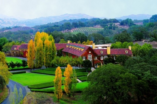 Healdsburg's Spectacular Jordan Winery Estate Tour