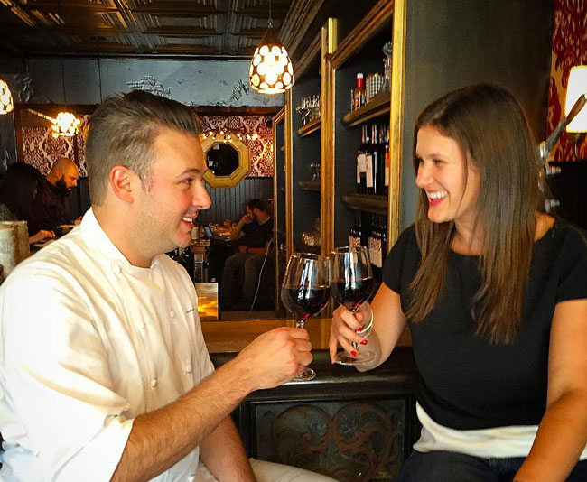 nterview with Chef Adam Sobel of The Michael Mina Test Kitchen Middle'Terranea