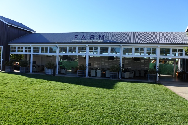 Interview with chef aaron meneghelli of the carneros inn for The farm restaurant napa
