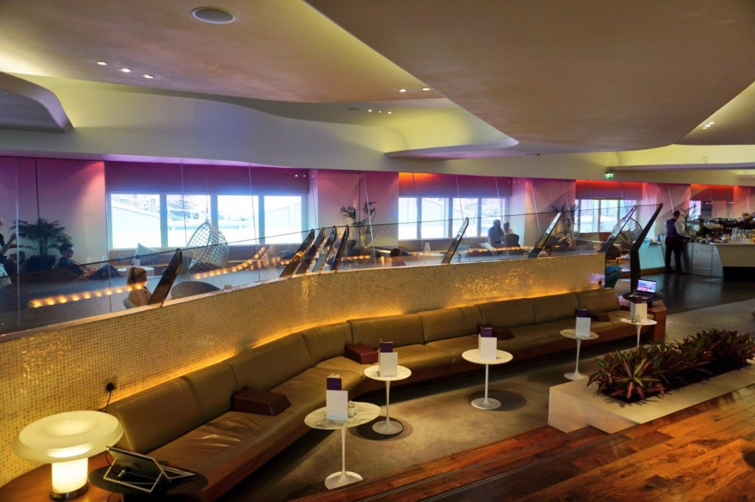 Virgin Atlantic London Heathrow Lounge