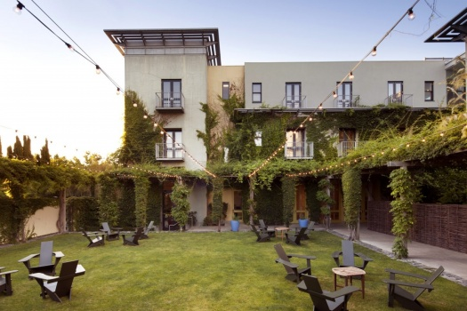 The Incredible Hotel Healdsburg in Downtown Healdsburg