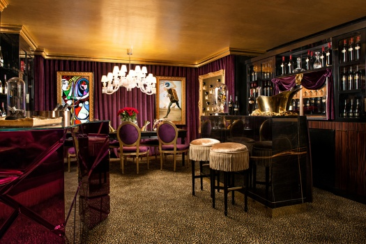 The JCB Tasting Lounge: Ritz Carlton San Francisco