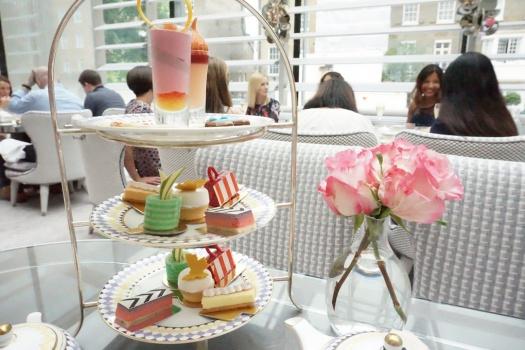 Afternoon High Tea at The Berkeley Knightsbridge London
