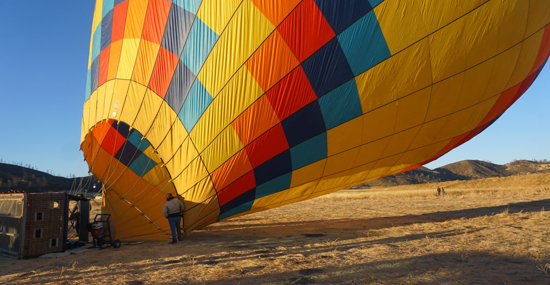 My Weekend Adventure in Calistoga including an incredible Hot Air Balloon Experience