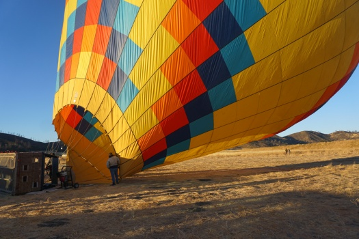 Calistoga Getaway and Hot Air Balloon Ride
