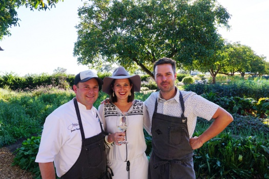 Kendall Jackson's Tomato Festival Farm to Table Charity Dinner