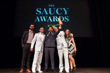 The Upcoming 2017 Saucy Awards: Hurry & Get Your Tickets!