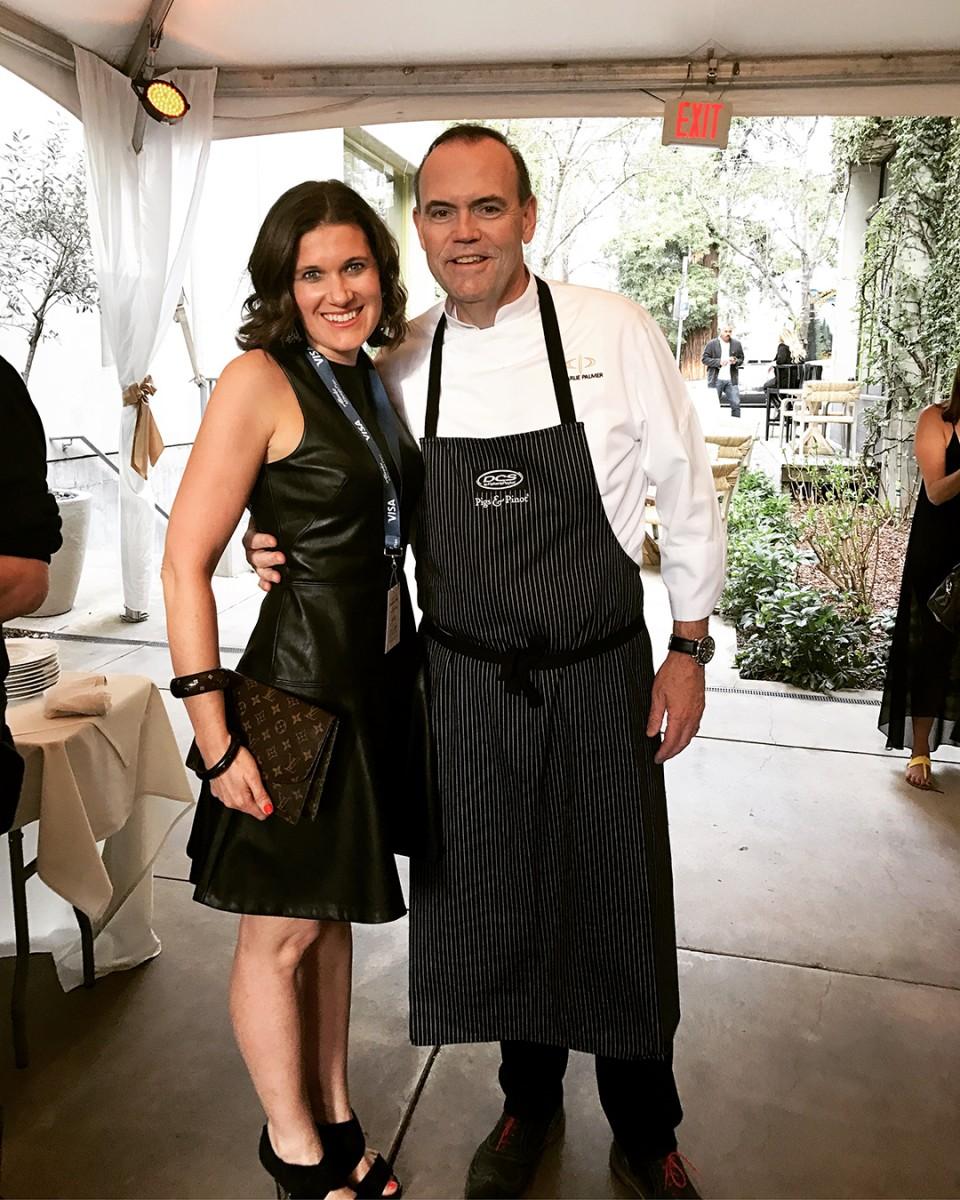 Chef Charlie Palmer Pigs & Pinot Noir Event