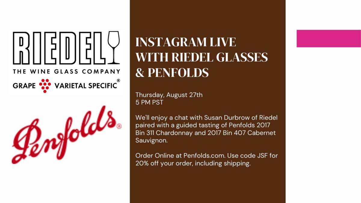Riedel Glassware & Penfolds