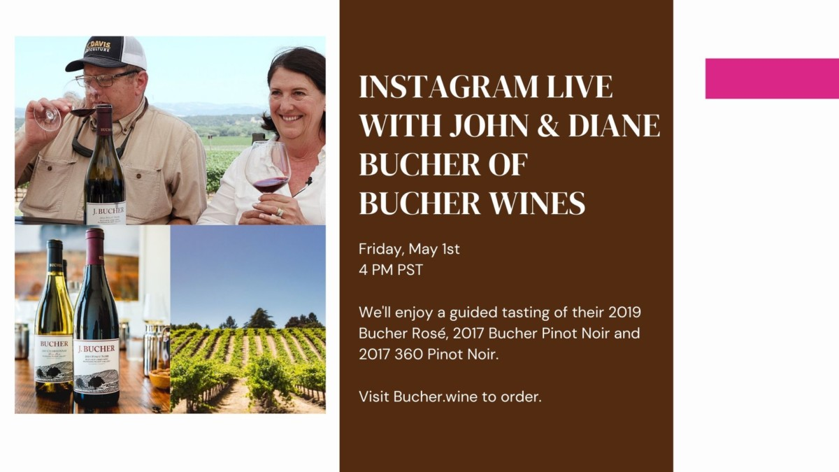 Diane & John Bucher of Bucher Wines