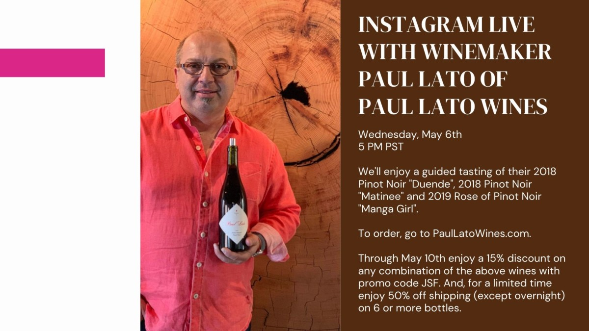 Paul Lato of Paul Lato Wines