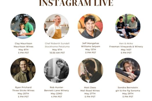 JetSetting Fashionista Instagram Live Virtual Wine & Culinary Happy Hours 2020