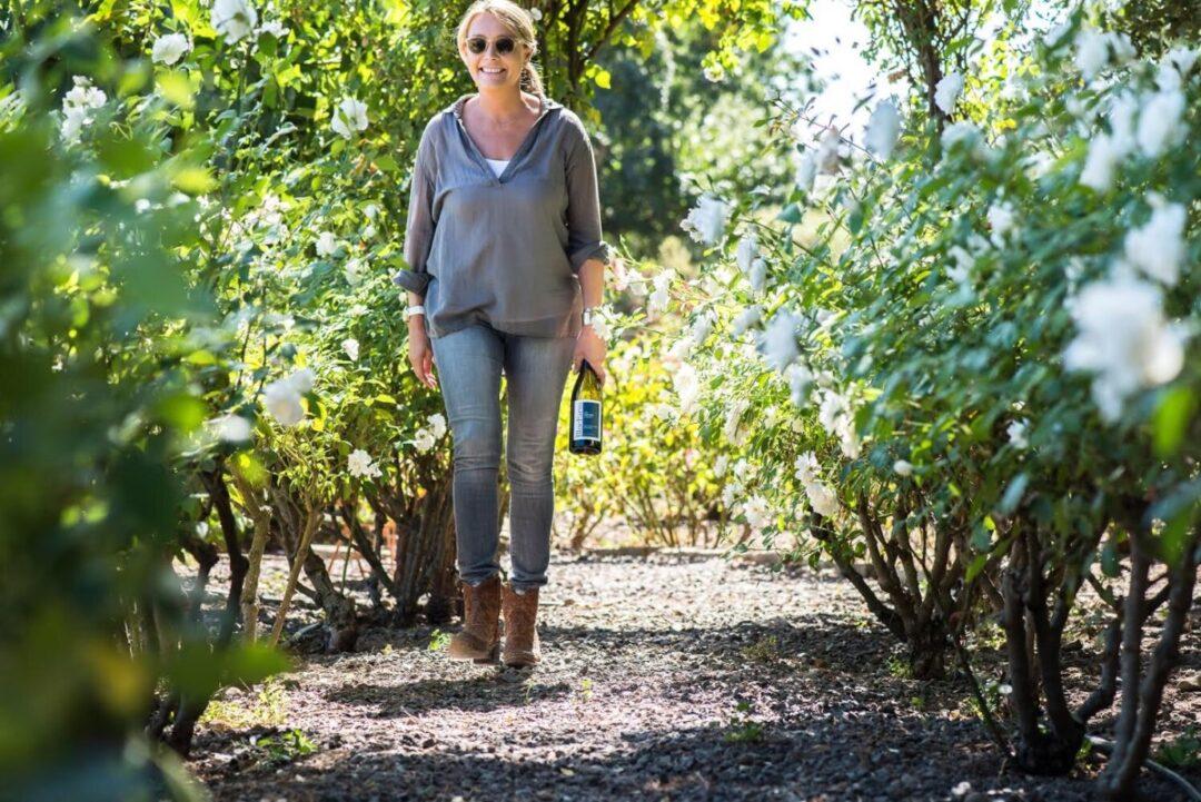 Anne Moller Racke Blue Farm Wines