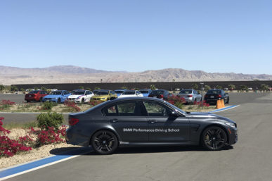 BMW Driving Experience, A Palm Springs Must