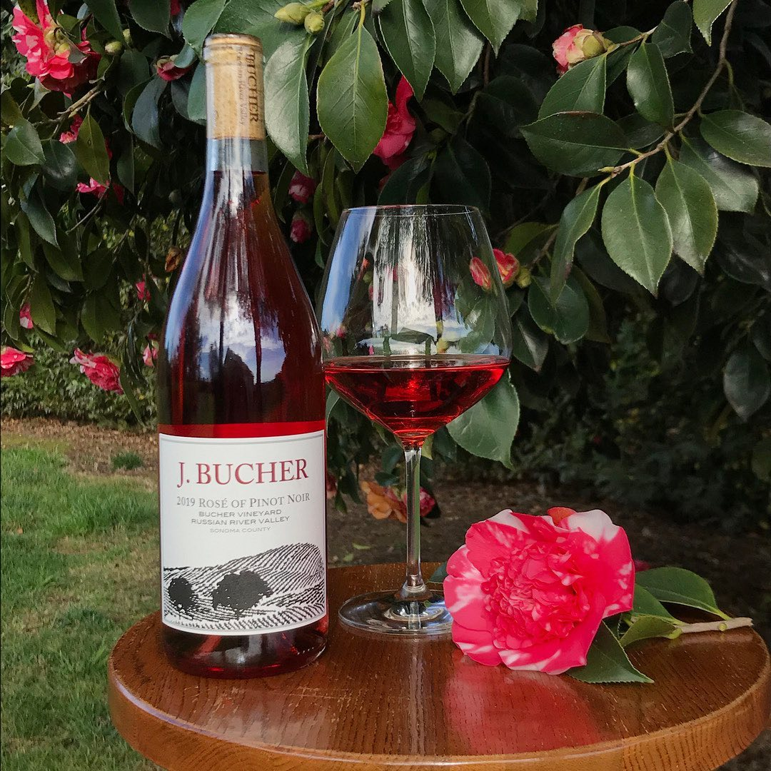 Bucher Wines Rose of Pinot Noir