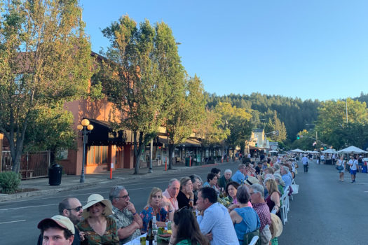Another Amazing Calistoga Harvest Table Dinner