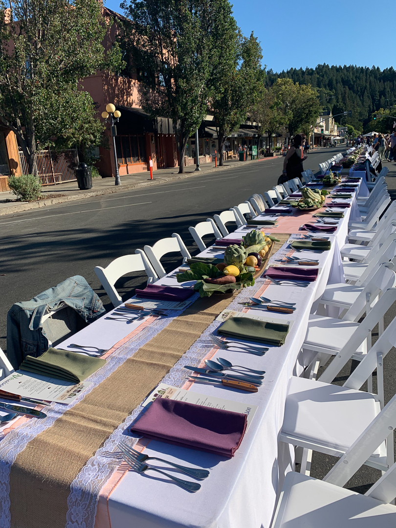 Calistoga Harvest Table by Visit Calistoga